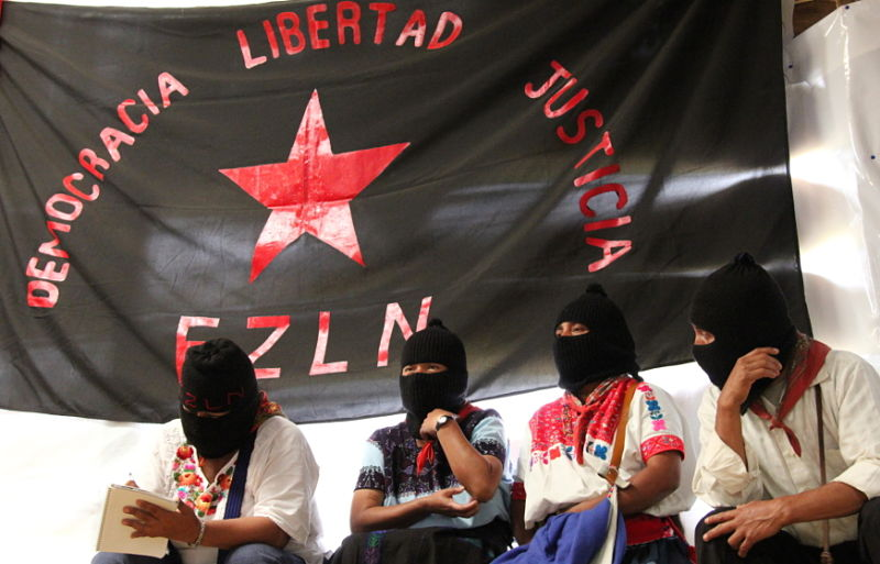 Zapatista Schools Open Doors in Chiapas (The Media Co-Op)